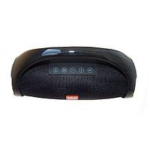 Музыкальная портативная колонка с радио и входом под usb и флеш-карту хорошая недорогая TG145, фото 3
