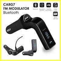 CarG7 FM Модулятор для Автомобиля, трансмиттер для авто, автомобильный плеер черный, фото 3