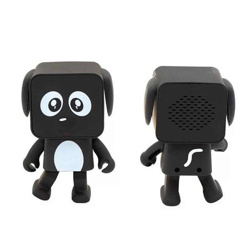 Портативна музична танцююча колонка Bluetooth у вигляді робота. Танцюючий робот собака DOG