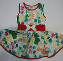 Платье с поясом Cicek, фото 2