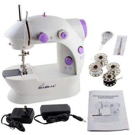 Швейная машинка mini Sewing Machine, Портативная Мини швейная машинка 4 в 1, Mini Sewing Machine, фото 2