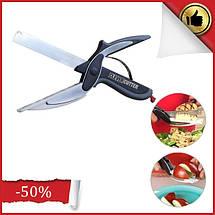 Универсальные кухонные ножницы Clever cutter, Ножи и ножницы кухонные 3 в 1, Умные ножницы, Чудо нож 3 в 1, фото 2