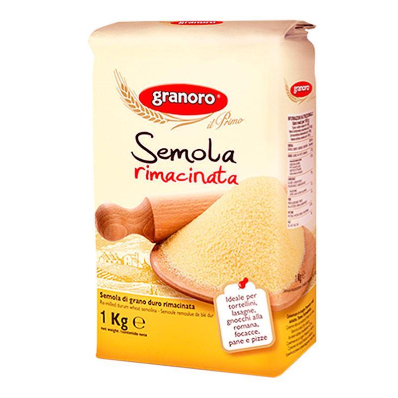 Мука Семола из твердых сортов Granoro 1 кг