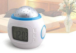 Часы с будильником и проектором звездного неба UKC 1038, фото 3