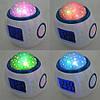 Часы с будильником и проектором звездного неба UKC 1038, фото 4