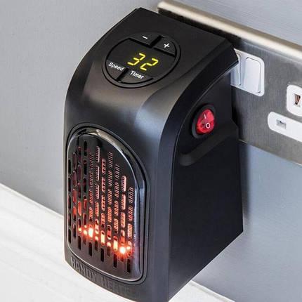 Портативный тепловентилятор дуйчик Handy Heater, электрообогреватель, мини обогреватель, Rovus, фото 2