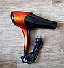 Професійний фен Gemei GM 1766, потужність 2600W, 3 швидкості, 3 режими нагріву,фен побутової, фото 3