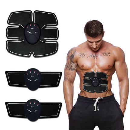 Тренажер для преса, Електростимулятор для м'язів, Хороший міостимулятор для преса Smart Fitness, фото 2