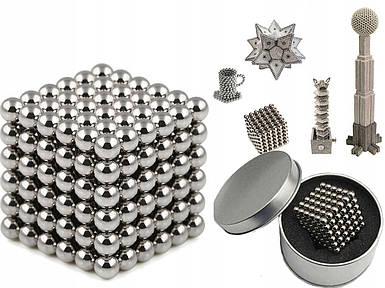 Магнитная игрушка головоломка конструктор антистресс Неокуб Neocube 216 шариков 5 мм, Магнитные шарики Toys