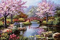 """Набор алмазной мозаики """"Весенний пруд"""", фото 1"""