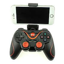 Блютуз джойстик Wireless GamePad X3 Бездротової джойстик ігровий Bluetooth геймпад для телефону iPhone, фото 2