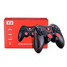Блютуз джойстик Wireless GamePad X3 Бездротової джойстик ігровий Bluetooth геймпад для телефону iPhone, фото 3