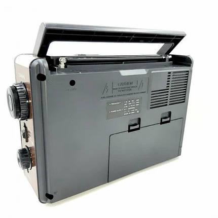 Портативный радиоприемник на батарейках GOLON RX-9966UAR, Fm радиоприемники, Fm радио, фото 2