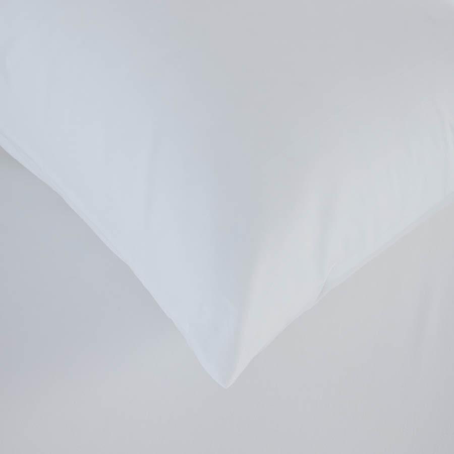 Простирадло на гумці з наволочкою Penelope - Laura white білий 100*200+50*70