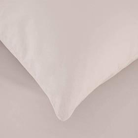 Простынь на резинке с наволочкой Penelope - Laura beige бежевый 120*200+50*70