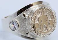 Серебряное  кольцо пауэрлифтинг