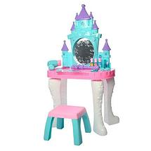 Игровой набор для девочек Трюмо Vanity со стульчиком сенсорной палочкой 661-127, Игрушечный салон красоты, фото 3