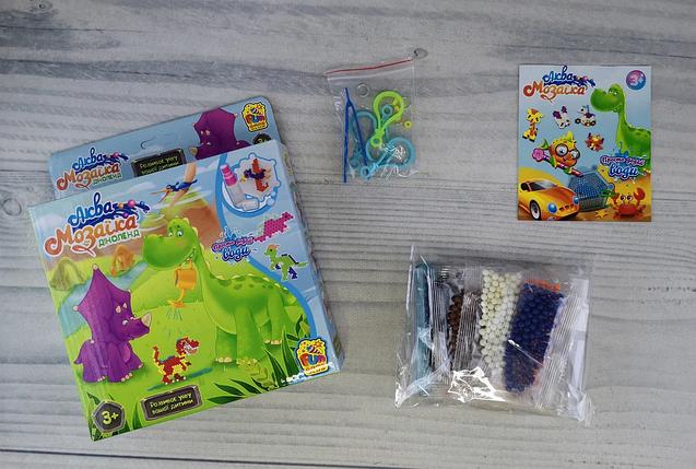 Дитяча настільна гра Аквамозаика Асорті Fun Game, Водна мозаїка для дітей, фото 2