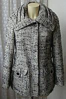 Пальто женское стильное демисезонное бренд Marks&Spencer р.44 4694