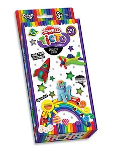 """Набор для креативного творчества тесто для лепки """"Master Do"""" 20 цветов в коробке DANKO TOYS Toys"""