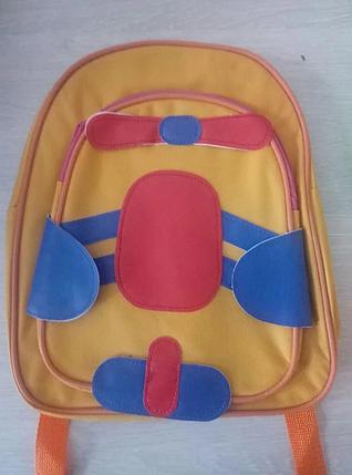 Маленький детский рюкзачок для малышей Baby Tilly для детского сада, рюкзак вертолет, фото 2