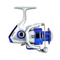 Котушка безынерционная Yumoshi SA 5000 Silver-Blue швидкість 5:5:1 рибальська