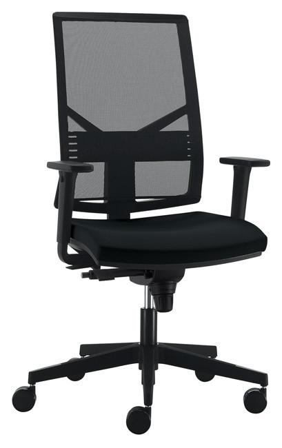 Офісне крісло з високою спинкою Enrandnepr PLAY чорний