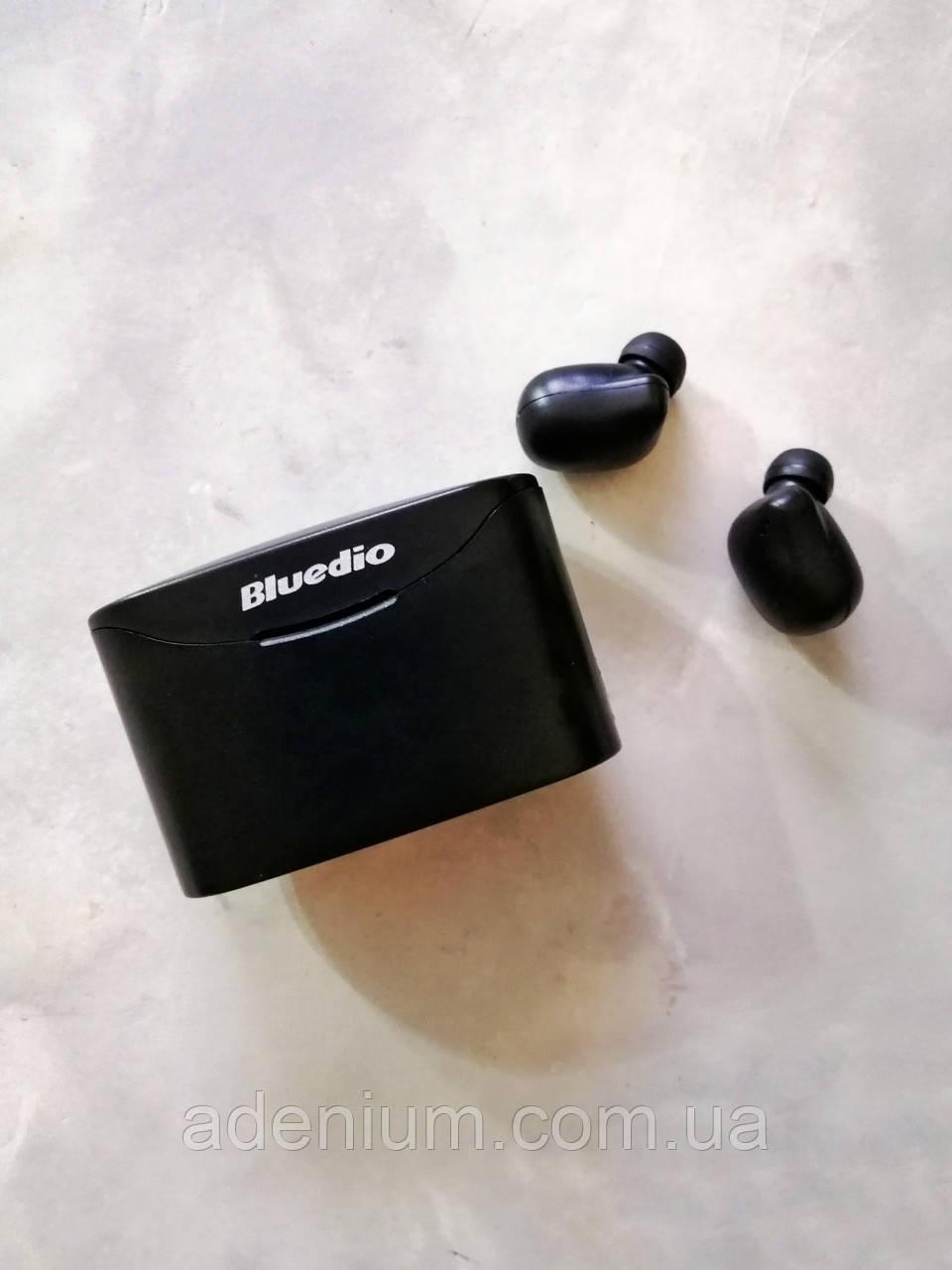 Бездротові Bluetooth-навушники Bluedio T Elf 2 із зарядним боксом