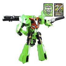"Робот-трансформер ""Deformation Synthesis Robot"" зі зброєю 25 см (зелений), фото 3"