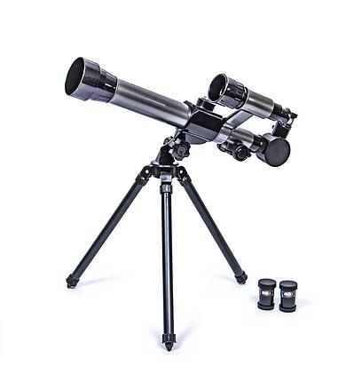 Телескоп дитячий зі штативом С2132, дитячий Телескоп настільний 3 ступеня збільшення, фото 2