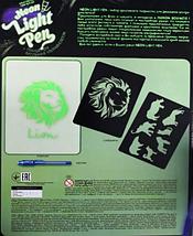 """Набор для творчества планшет для рисования в темноте с ручкой """"Neon Light Pen"""" Danko Toys (NLP-01-01) Лев, фото 2"""