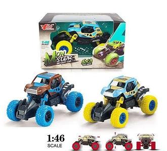 Машинка джип Monster MY66-Y193 металлопластик  инерционная в коробке Toys