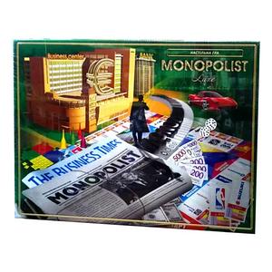 Больная настольная игра Экономическая Монополия Monopolist укр язык Toys