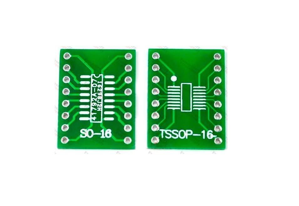 SOP16 SO16 SOIC16 - DIP16 переходник адаптер