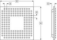 Микросхема видео декодер SAA7117AE/V2 /PH/