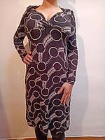 Красивое платье черное с кольцами р 40 евро (Ликвидация склада, распродажа)