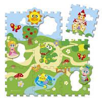 Детский коврик Chicco Крепость 9 элементов (05316.00)