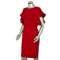 "Модное платье красного цвета ""PHARDI"""