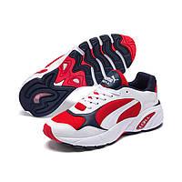 Мужские кроссовки PUMA White & Red CELL Viper Low-Top Sneakers ОРИГИНАЛ (размер US 12 30см)