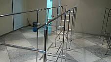 Стойка для одежды напольная хром 1.5м на 1.5м, фото 3