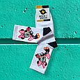 Носки Минни Маус белые размер 40-44, фото 3