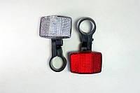 Катафот белый+красный+крепление (комплект)
