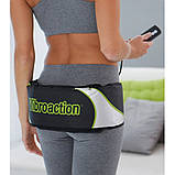 Массажный пояс для похудения Vibroaction Виброэкшн Вибромассажер для коррекции пресса талии ягодиц бёдер, фото 9