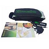 Массажный пояс для похудения Vibroaction Виброэкшн Вибромассажер для коррекции пресса талии ягодиц бёдер, фото 4
