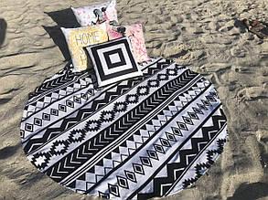 Кругле пляжний рушник Эклептика (150 див.)