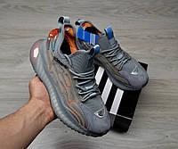 Кроссовки мужские Adidas Boost Grey модель 2021, фото 1