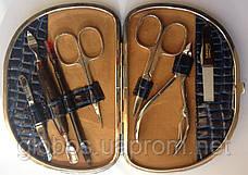 Набор инструментов для профессионального маникюра GLOBOS 79088N dark blue, фото 3