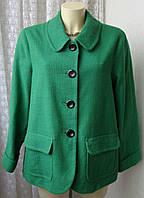 Пальто женское легкое элегантное демисезонное бренд Alex&Co р.46 4696