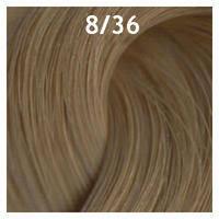 """8/36 """"светло-русый золотисто-фиолетовый"""" Estel краска для волос ESSEX Princess 60 мл."""