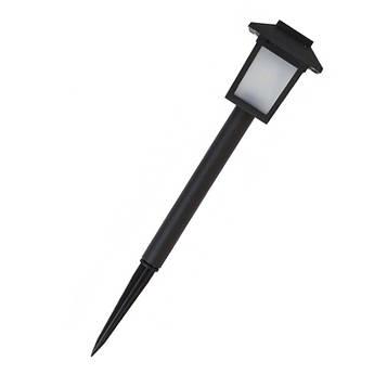 Садовый фонарь на солнечной батарее LED 26см.  с авто вкл/выкл, цена за 1 шт. в уп. 6 шт. (СФ-11)
